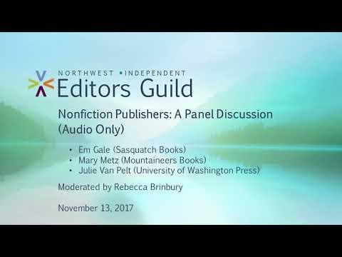 Nonfiction Publishers: A Panel Discussion