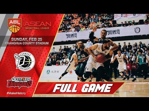 Formosa Dreamers vs Westports Malaysia Dragons | FULL GAME | 2017-2018 ASEAN Basketball League