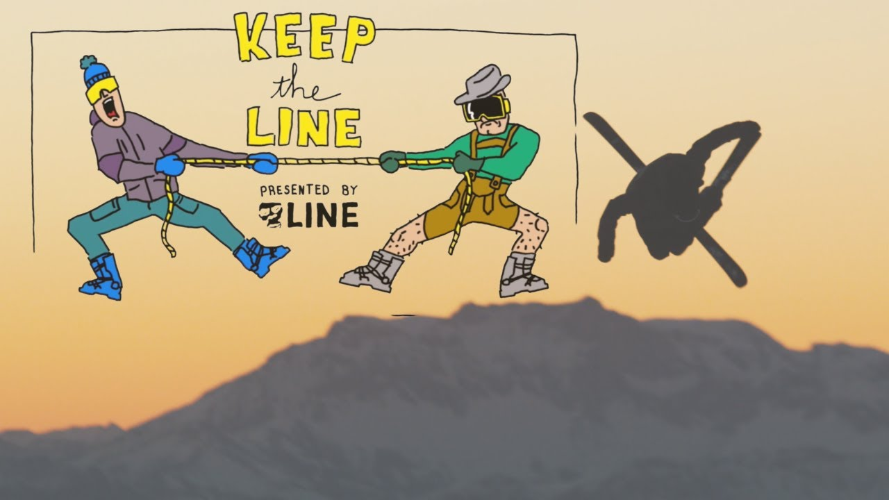 Keep The LINE Skis 2.3 - LES ORRES