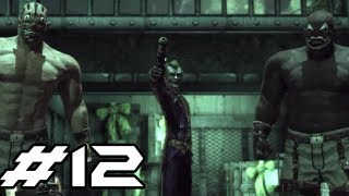 BATMAN Arkham Asylum Gameplay Walkthrough - Part 12 - Double Trouble (Let
