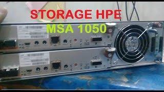 storage HPE -  HP MSA 1050