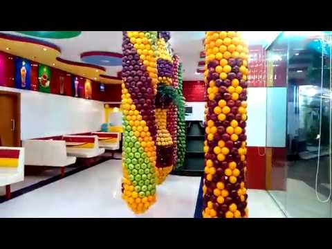 Amazing Fruits Shop in Makkah Saudi Arabia, Street Juice World
