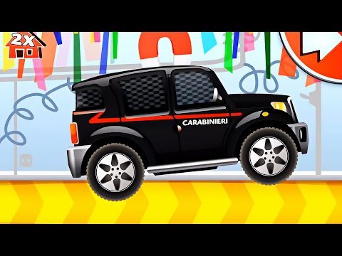 Dream Cars Factory Police Car - The Best Game for Kids