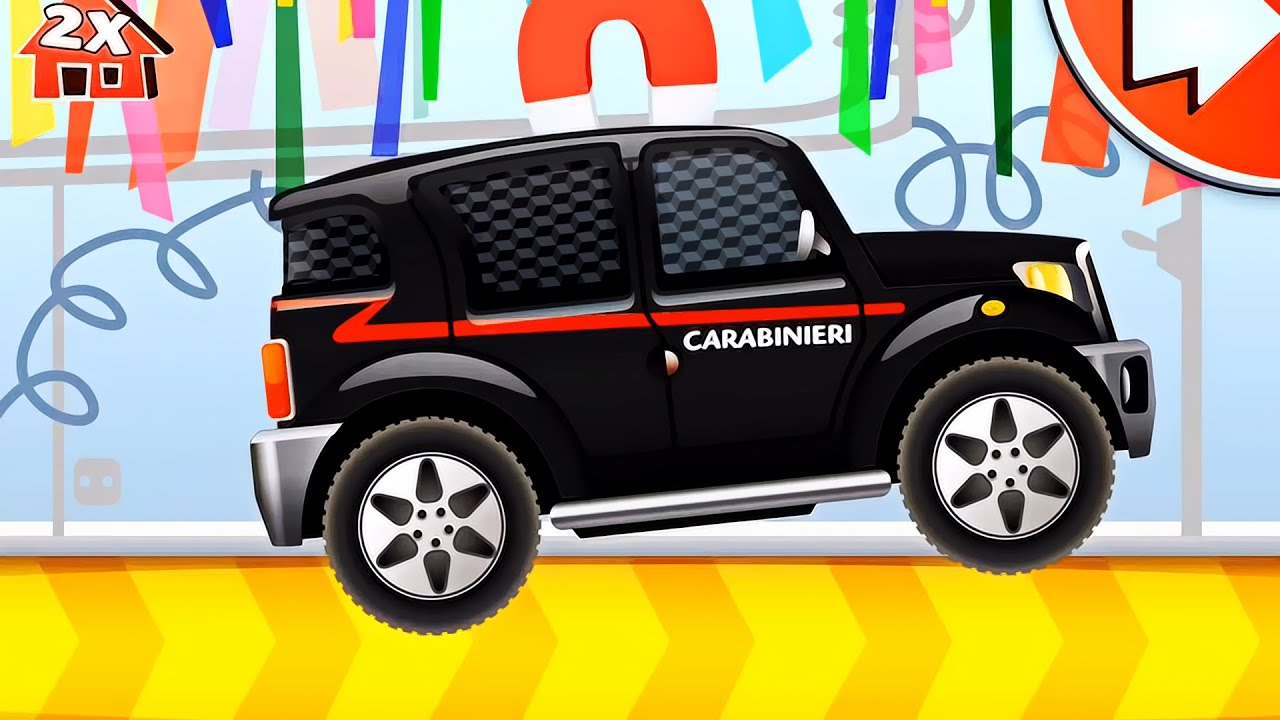 dream cars factory police car the best game for kids about cars youtube