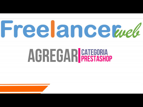 Agregar Categoria PrestaShop Freelancerweb.com.mx