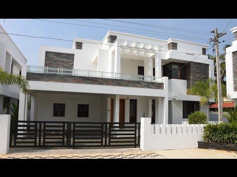 Aluva, 7 cents plot and 2950 sq ft, luxury villa for sale in Aluva, Kochi, Kerala