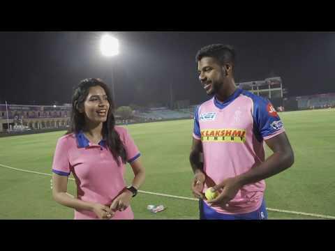 Varun Aaron's Rainbow Kick Challenge   IPL 2019   IPL