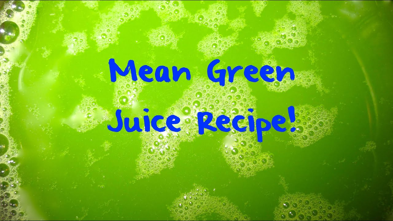 Mean Green Juice Recipe Fat Sick And Nearly Dead Movie