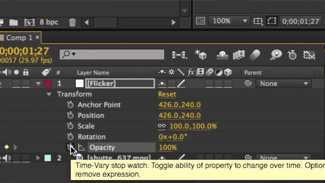 How to Make Light Flashes on After Effects : After Effects Made Easy