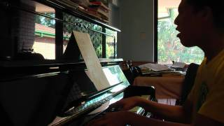 獨行俠 Maverick - 李治廷 Aarif Lee PIANO IMPROVISATION 自彈自唱 2010.