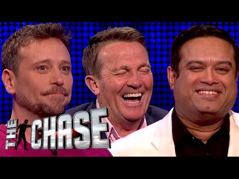 The Chase | Bradley Walsh Cracks Up Over Big Narstie