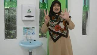 7 Langkah Cuci Tangan dengan Ibu Dewi