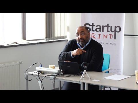 Manmeet Singh in Kyiv - Startup Grind Kyiv, Ukraine