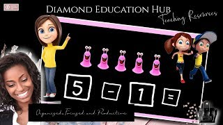 Learning to Subtract|Diamond Education Hub| Subraction | Early Maths