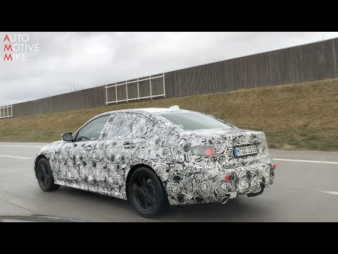 2019 BMW 3 Series G20 spied testing on the Autobahn!