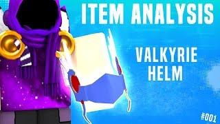 ROBLOX Item Analysis - Valkyrie Helm! - An Original Series