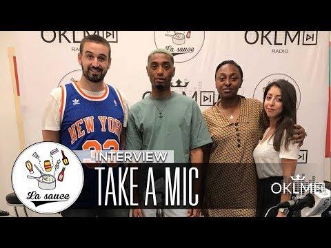 Youtube: TAKE A MIC – #LaSauce sur OKLM Radio 29/06/18
