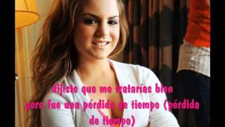Leave (get out) en español - JoJo