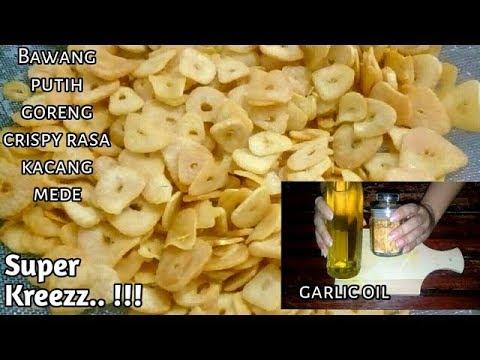Bawang Putih Goreng Krispi | Garlic Chips | Fried Garlic