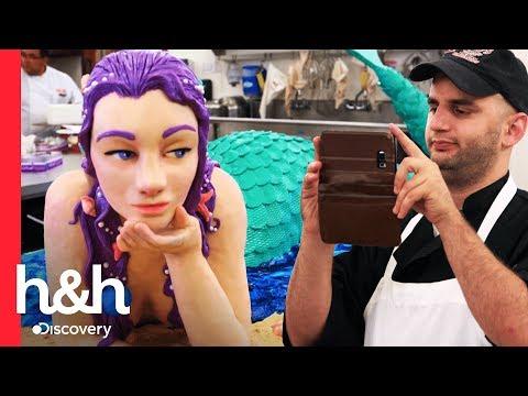 ¡Una sirena sabrosa! | Cake Boss | Discovery H&H