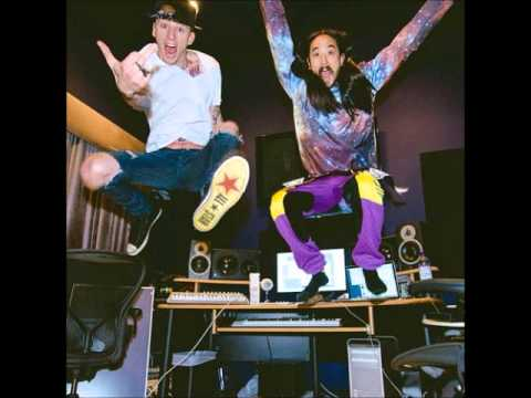 Steve Aoki Ft Machine Gun Kelly - Free The Madness
