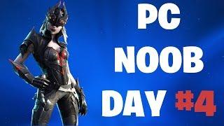 PC NOOB DAY #4 | FORTNITE LIVE STREAM BATTLE ROYALE