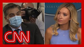 Will Trump take responsibility if rallygoers get sick? Hear McEnany's answer