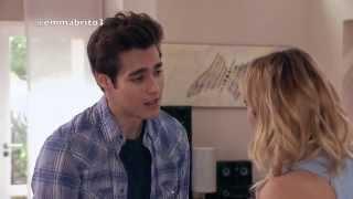León y Violetta hablan en su casa (03x12)