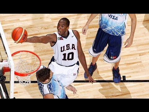 Argentina vs USA 2007 FIBA Americas Basketball Championship Quarter Final Round FULL GAME English