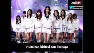 Girls' Generation - Into the New World Karaoke (Official Instrumental + Backup vocal)