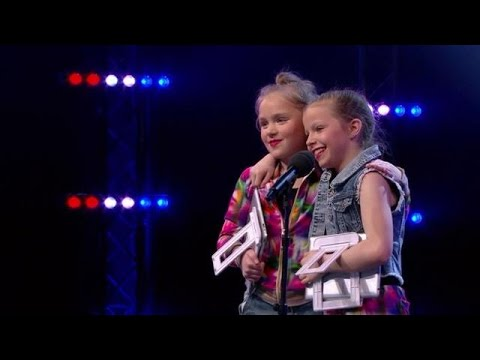 Vriendinnen Nova en Demi stelen alle harten - HOLLAND'S GOT TALENT
