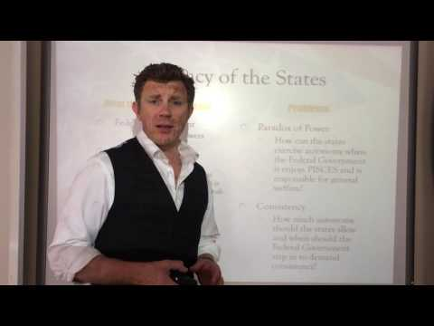 Assessing the Constitution: Part II - Federalism