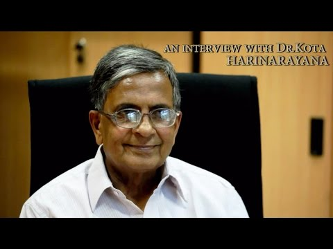 Interview with Dr. Kota Harinarayana