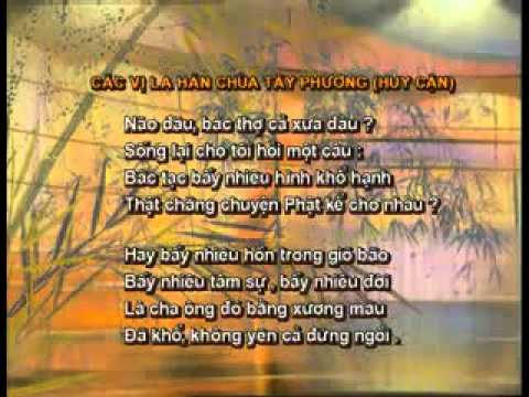 DENSACH.VN - Bài 18 - Các vị La Hán chùa Tây Phương (Huy Cận) - phần 1