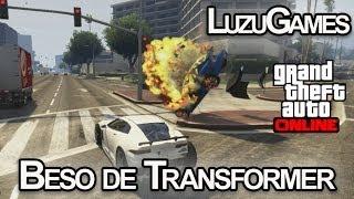 BESO DE TRANSFORMER!!! GTA V con Willyrex, Vegetta y AlexBY - [LuzuGames]