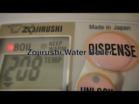 Zojirushi Water Boiler Dispenser / Electric Hot Water Heater For Instant On Demand For Coffee / Tea