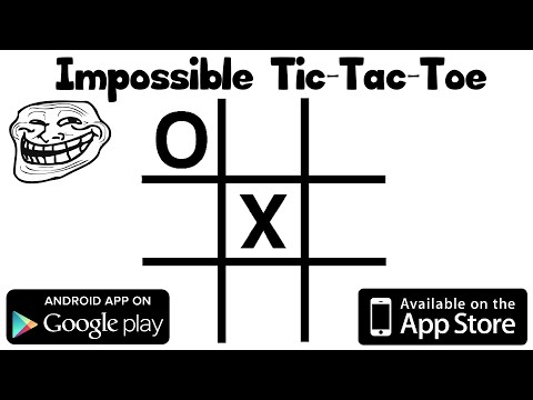 Impossible Tic-Tac-Toe (iOS + Android)