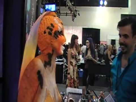 INTERNATIONAL MAKE UP ARTIST TRADE SHOW