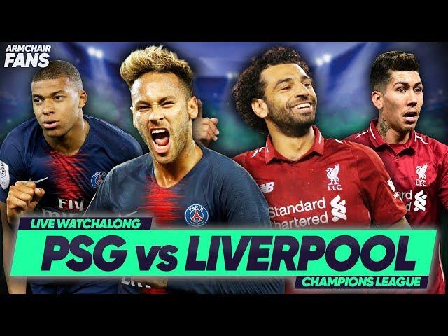 PSG 2-1 Liverpool   Neymar Scores To Down Reds!    #ArmchairFans