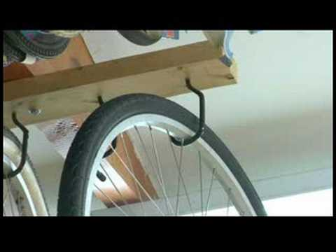 Bicycle Tips & Maintenance : How to Hang a Bike
