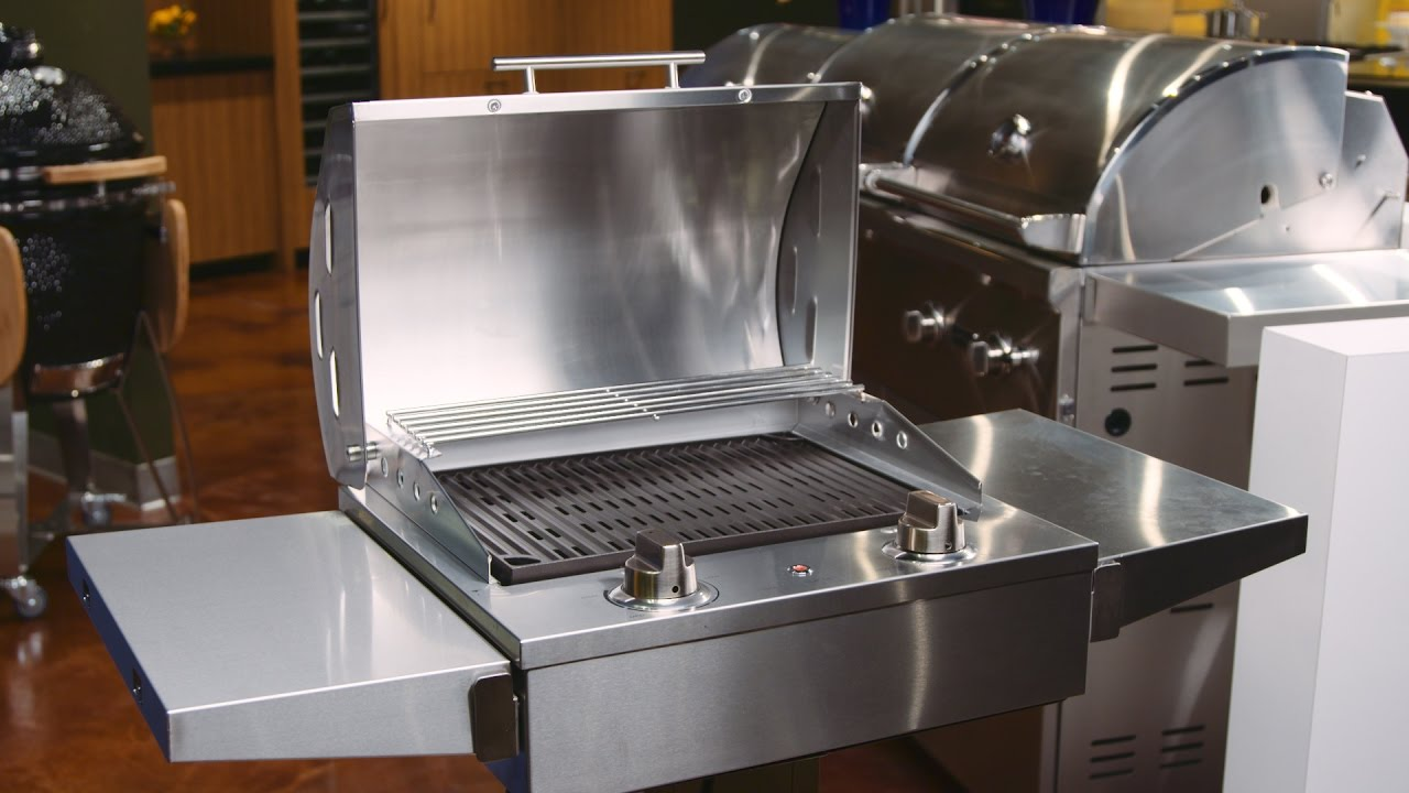 Coyote electric grill youtube for Coyote outdoor grills