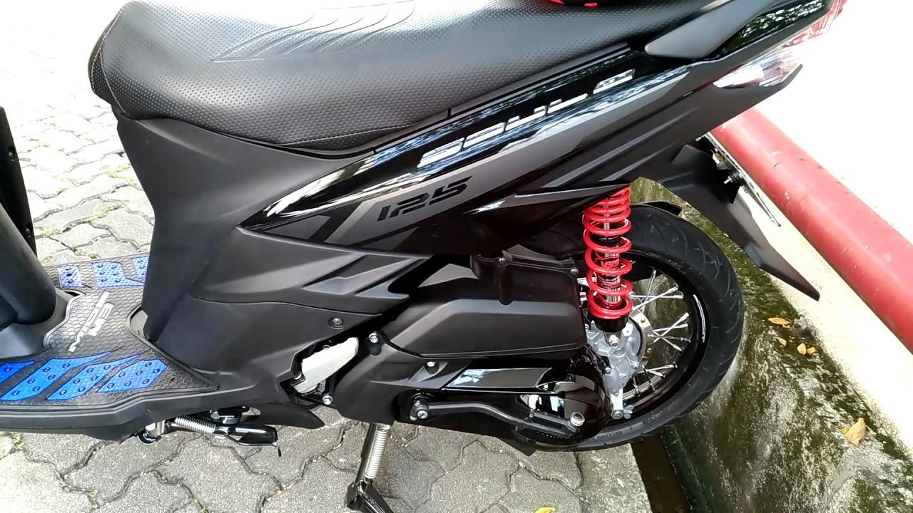 Mio Soul GT 125 Modif Pelek Jari-Jari Ring 14