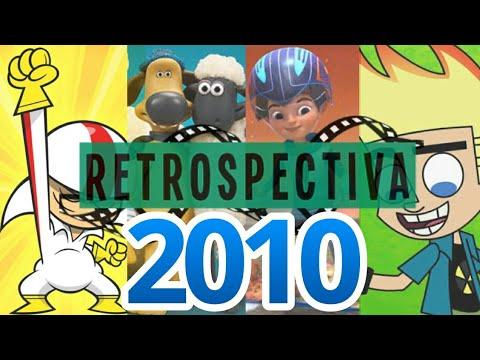 Retrospectiva Desenhos Do Ano De 2010 Youtube
