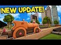 Huge New Train Crossings & City Update - Tracks - The Train Set Game Gameplay - Toy Trains