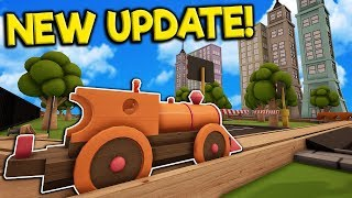 huge new train crossings city update tracks the train set game gameplay toy trains