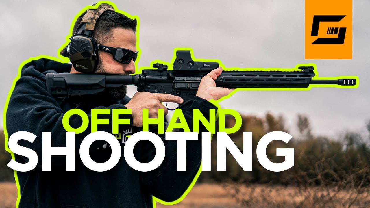 How To Shoot Off Hand | Make Accurate Off Hand Shots!
