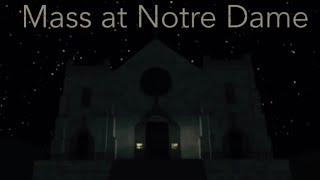 Serving at Notre -Dame in Roblox {Part 1}