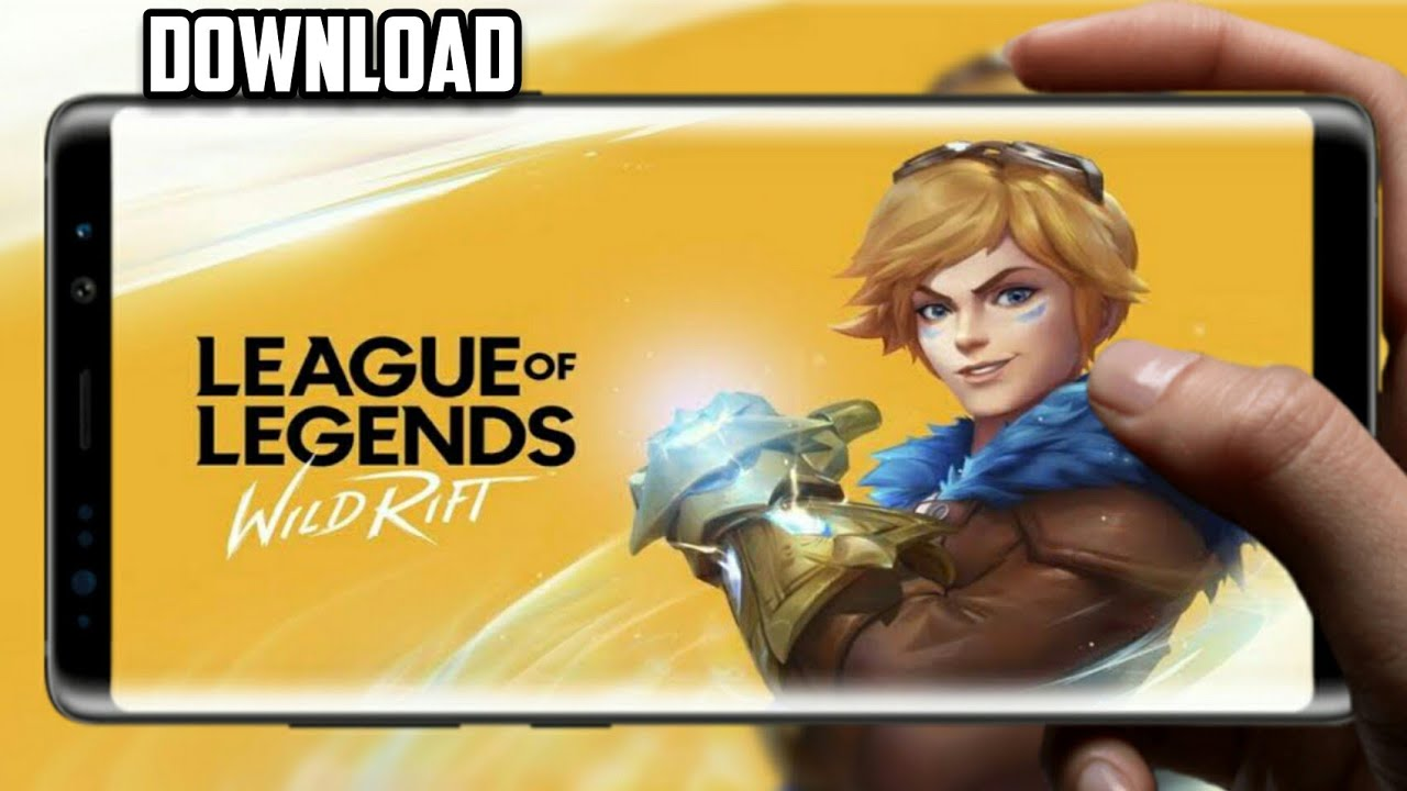 LEAGUE OF LEGENDS: WILD RIFT 0.3.0.3050 ANDROID DOWNLOAD ...