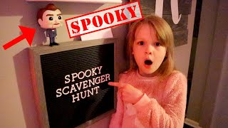 Spooky Scavenger Hunt with Benson The Dummy from Toy Story 4! Benson Plays with My PB and J!