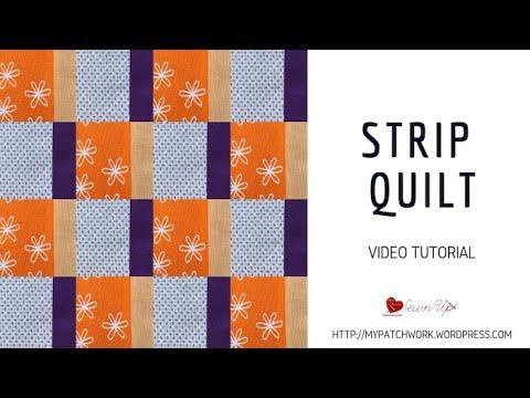 Video tutorial: Strip quilts thumbnail